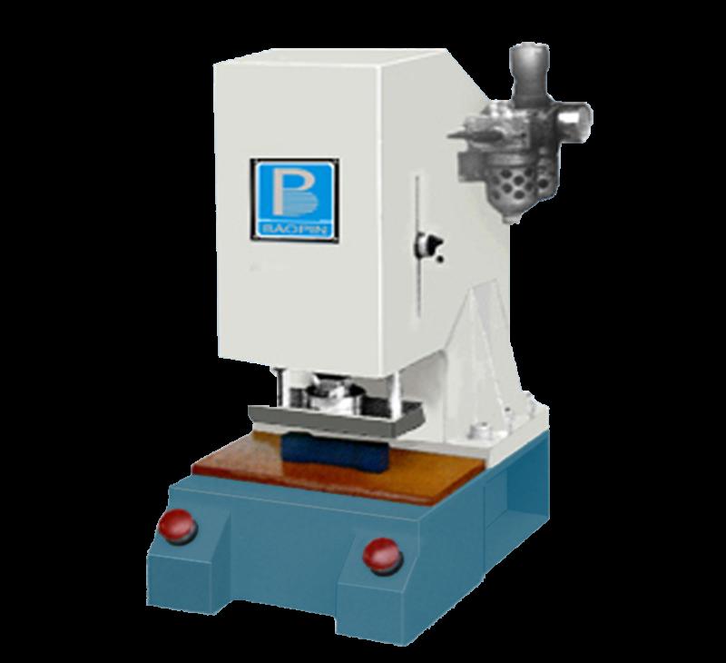 Pneumatic test piece cutting machine