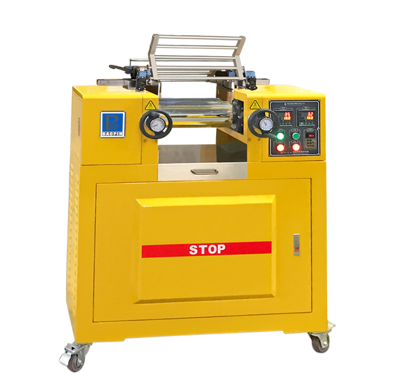 LAB DOUBLE-ROLL MILL/ELECTRIC HEATING TYPE