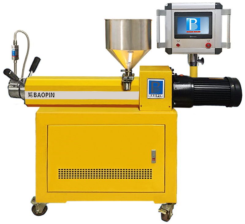 SINGLE SCREW EXTRUDER/BENCH-TOP PLC TYPE
