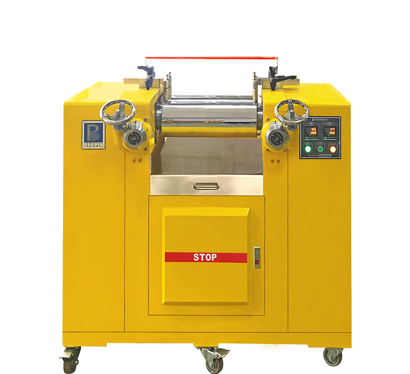 LAB RUBBER DOUBLE-ROLL MILL