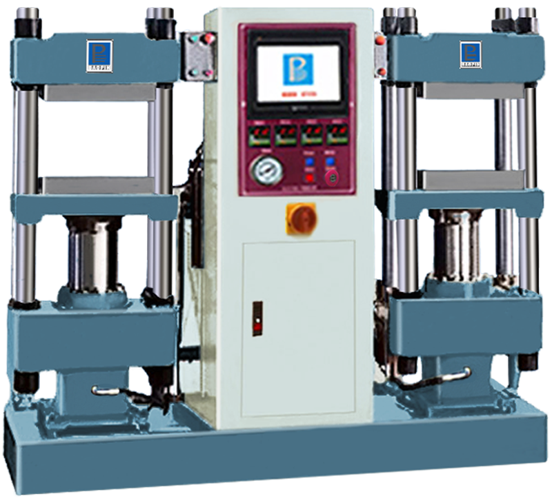 PLATE CURING PRESS/PLC TYPE/DUPLEX